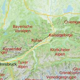 karte deutsche alpen Topografische online Wanderkarte der Alpen   Online Routenplanung